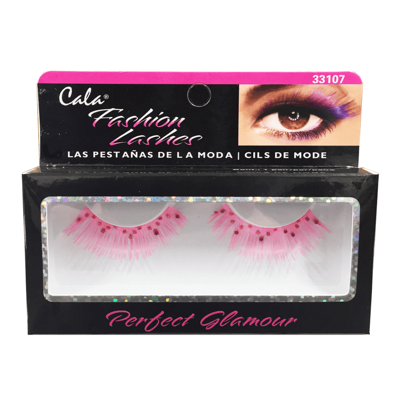 Cala Fashion Lashes Pink Feather