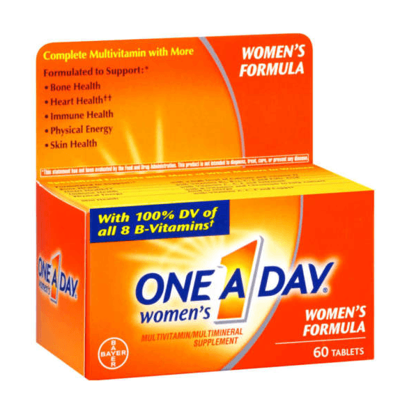 One A Day Womens Multivitamin 60 Tablets