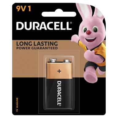 Duracell Coppertop Battery 9V 1-Pack