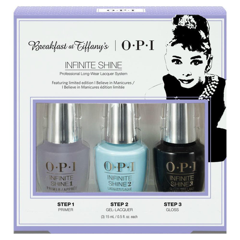 OPI Breakfast at Tiffany's Infinite Shine Trio Set