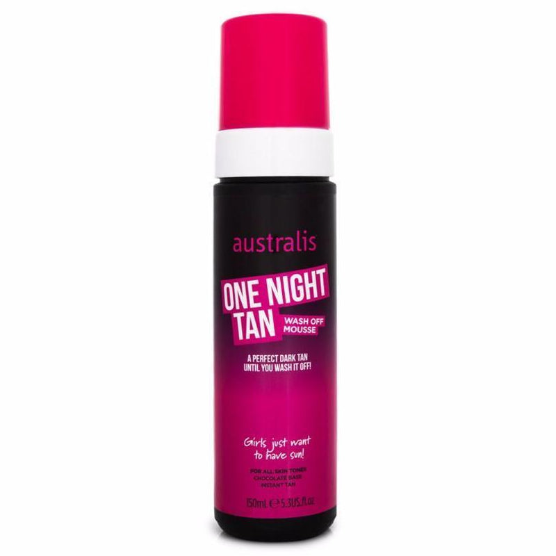 Australis One Night Tan Wash Off Mousse 150ml