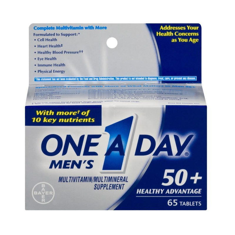 One a Day Men's 50+ Multivitamin