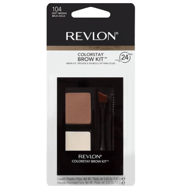 Revlon Colorstay Brow Kit #104 Soft Brown
