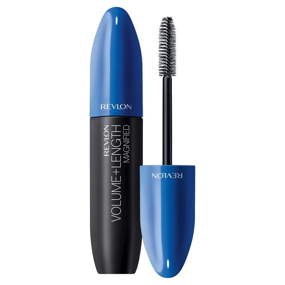 Revlon Volume + Length Magnified Waterproof Mascara | 351 Blackest Black
