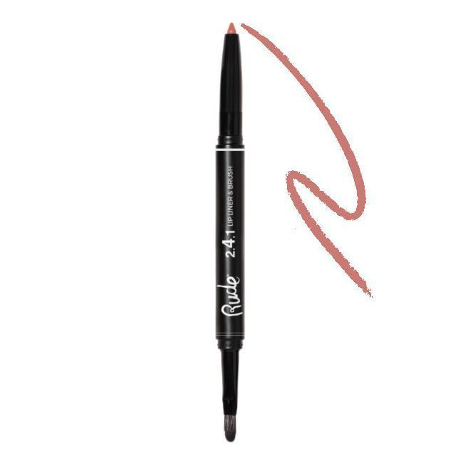Rude 2.4.1 Lip Liner & Brush | Addicted