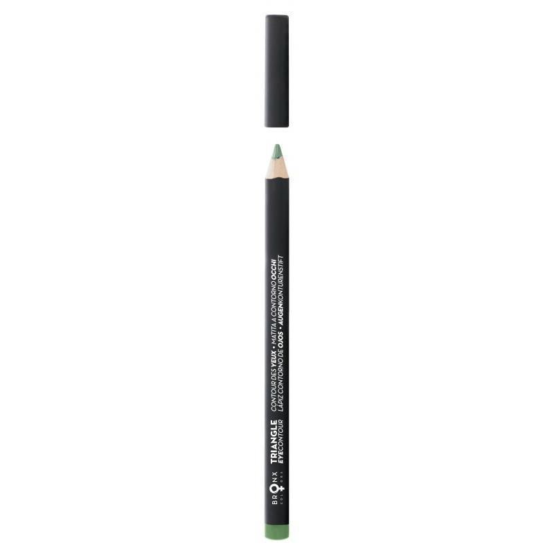 Bronx Triangle Eye Contour Pencil | Green Oak