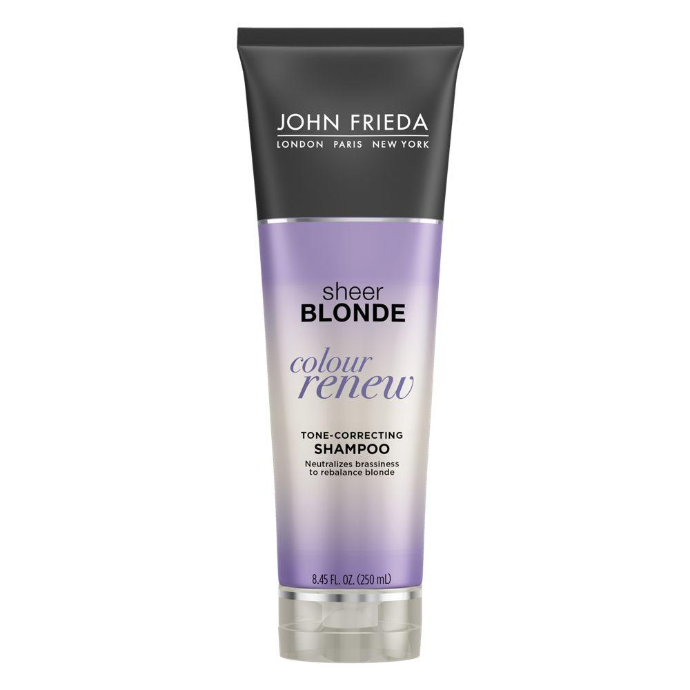 John Frieda Sheer Blonde Color Renew Tone-Correcting Shampoo 250mL