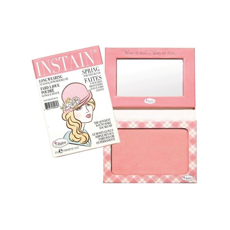 The Balm Instain Long Wearing Powder Blush | Argyle Petal Pink