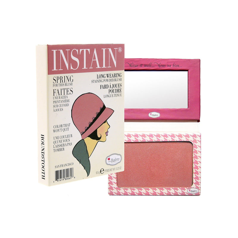 The Balm Instain Long Wearing Powder Blush | Houndstooth Mauve