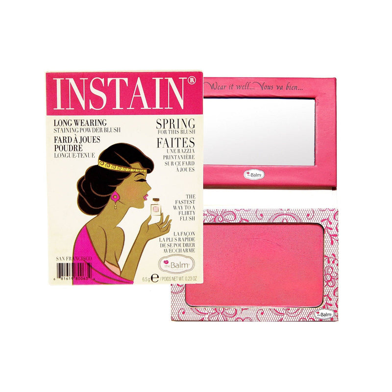 The Balm Instain Long Wearing Powder Blush | Lace Bright Pink