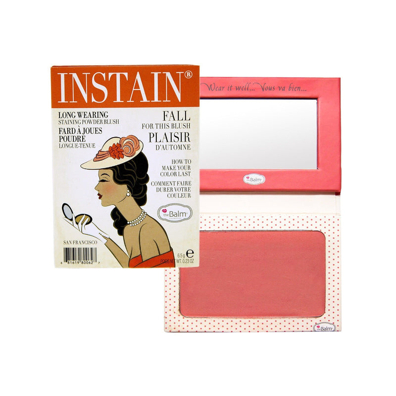 The Balm Instain Long Wearing Powder Blush | Swiss Dot Peach