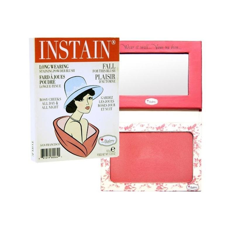 The Balm Instain Long Wearing Powder Blush | Toile Strawberry