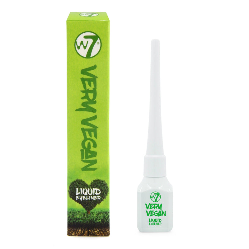 W7 Very Vegan Liquid Eyeliner Black