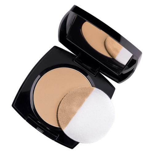 Avon True Color Flawless Mattifying Pressed Powder | Neutral Medium Deep