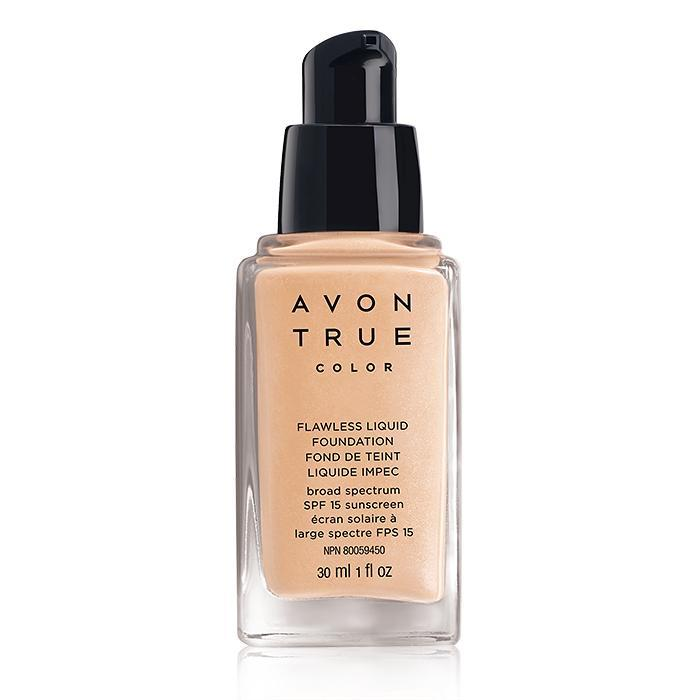 Avon True Color Flawless Liquid Foundation | Ivory Pink