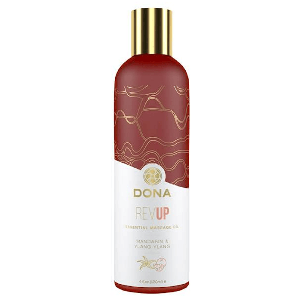 DONA REVUP Essential Massage Oil Mandarin & Ylang Ylang 120mL