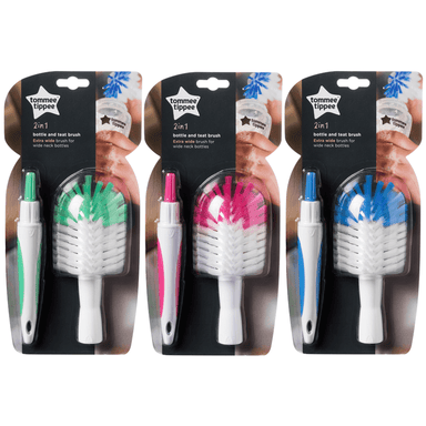 tommee tippee Closer to Nature Bottle & Teat Brush Closer to Nature Bottle & Teat Brush