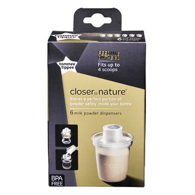 tommee tippee Closer to Nature Milk Powder Dispenser Closer to Nature Milk Powder Dispenser
