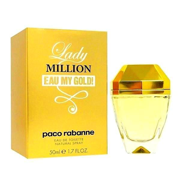 Paco Rabanne Lady Million Eau My Gold 50ml EDT