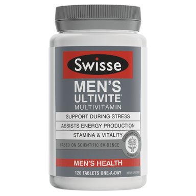 Swisse Men's Ultivite Multivitamin - 120 Tablets