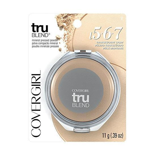 Covergirl Tru Blend Mineral Pressed Powder | Translucent Light