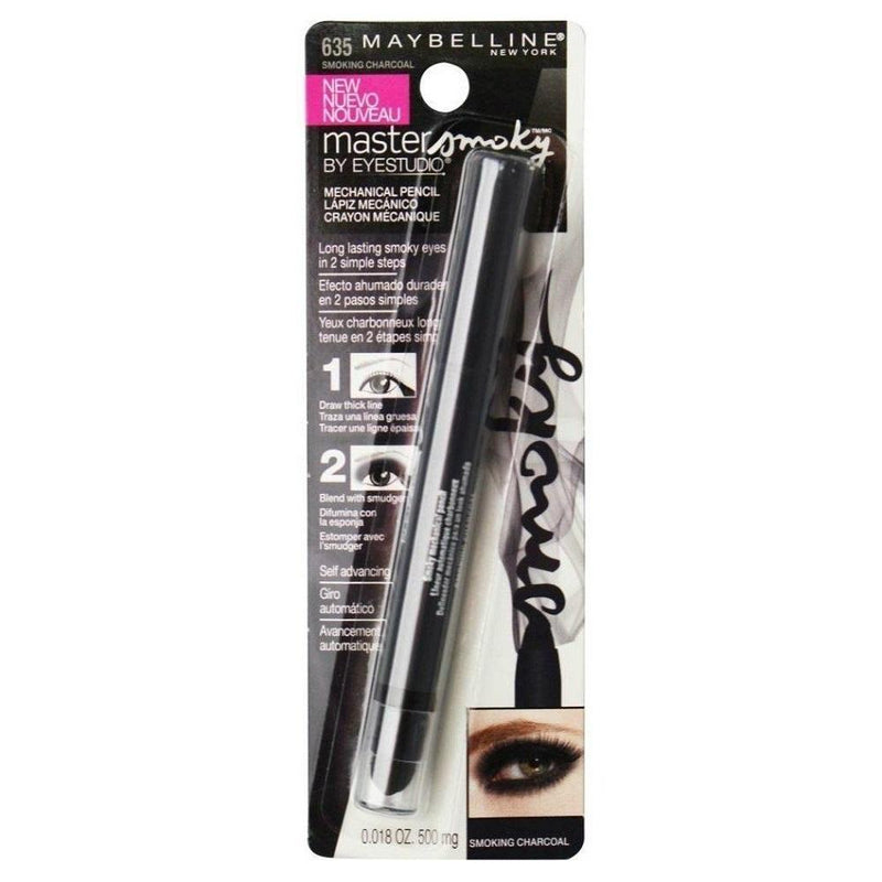 Maybelline Master Smoky Mechanical Pencil #635 Smoking Charcoal
