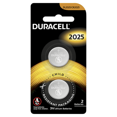 Duracell Lithium Coin Batteries 2025 2-Pack