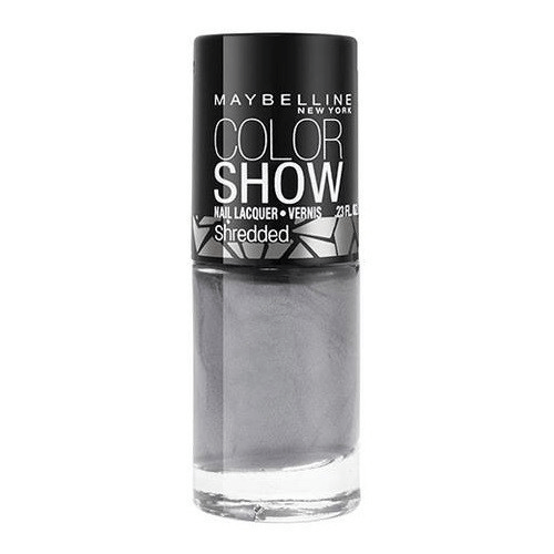 Maybelline Colour Show Nail Polish - Fierce & Tangy - Silver Stunner