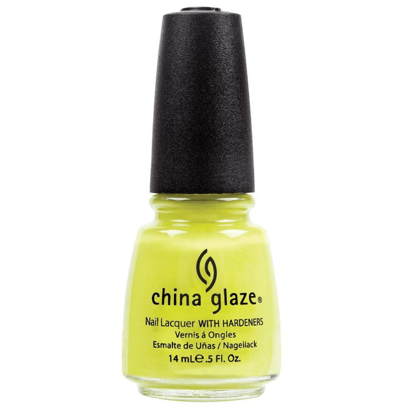 China Glaze Nail Polish Electric Pineapple