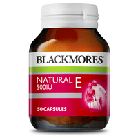 BLACKMORES Natural E 500IU - 50 Capsules