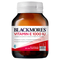 BLACKMORES Natural E 1000IU - 30 Capsules