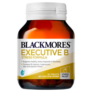 BLACKMORES Executive B Stress Formula - 62 Tablets