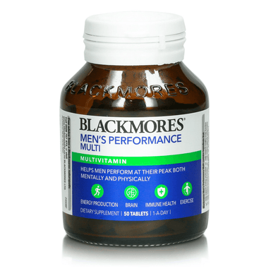 BLACKMORES Men's Performance Multi - 50 Tablets