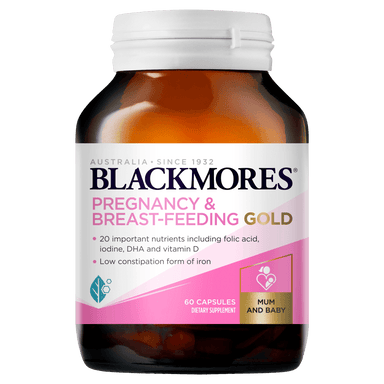 BLACKMORES Pregnancy & Breast-Feeding Gold - 60 Capsules