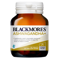 BLACKMORES Ashwagandha+ - 60 Tablets