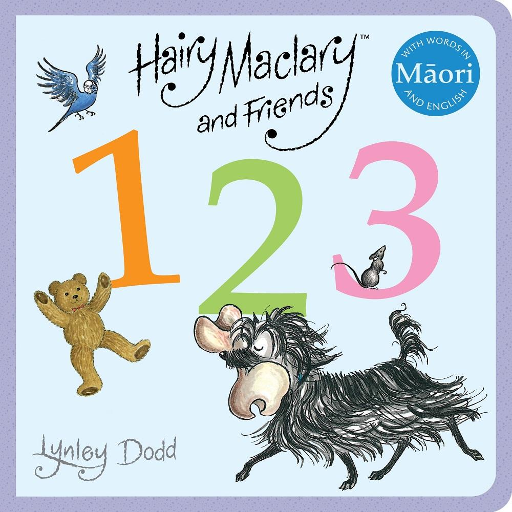 Lynley Dodd Hairy Maclary and Friends: 123 in Maori and English