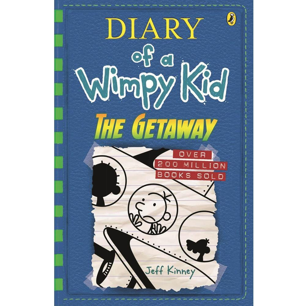 Jeff Kinney Diary of a Wimpy Kid 12: The Getaway