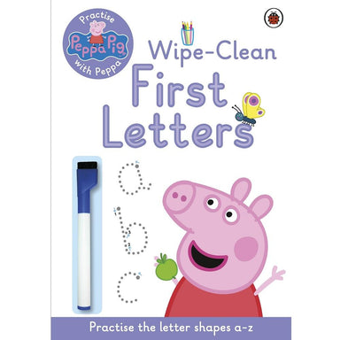 Peppa Pig: Wipe-Clean First Letters