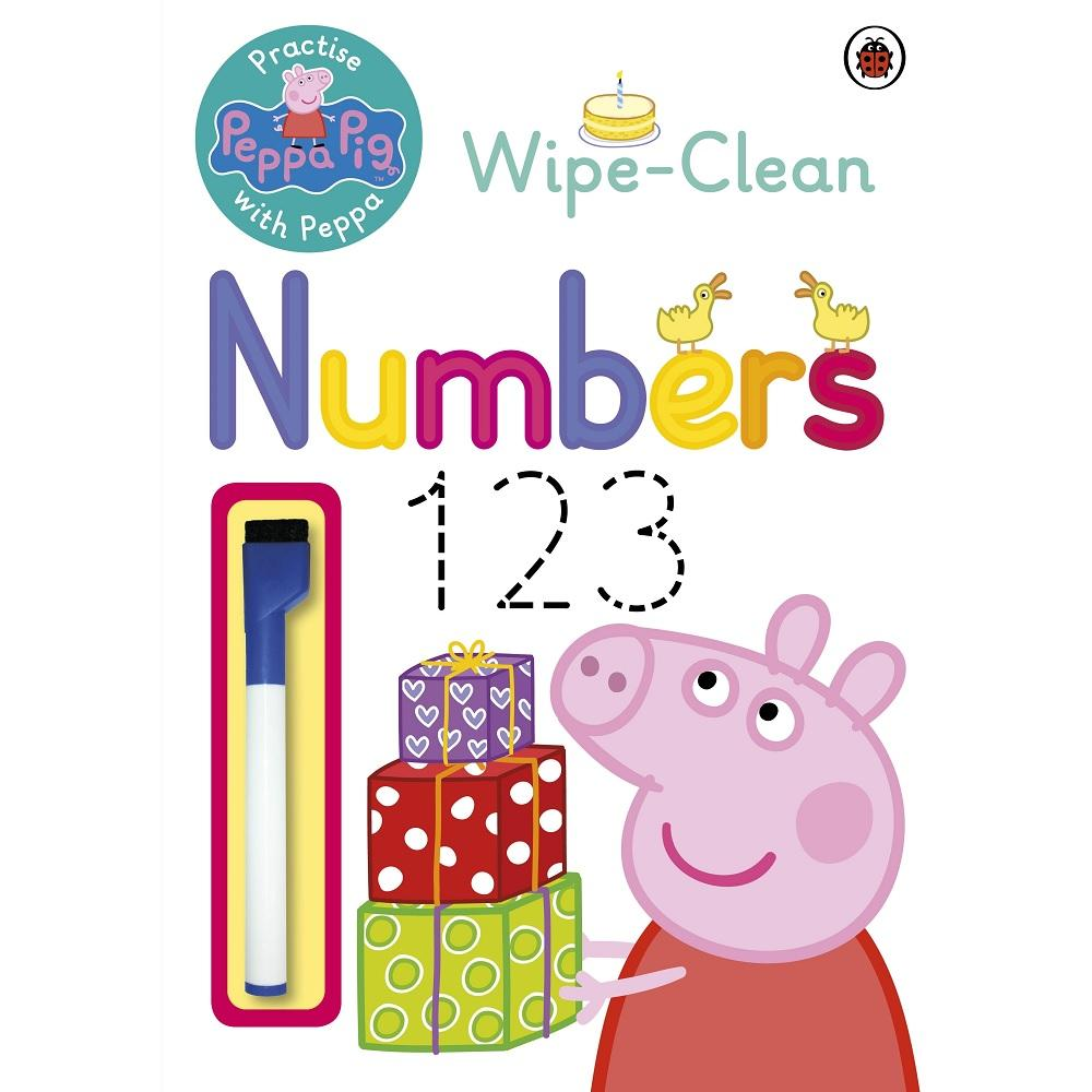 Peppa Pig: Wipe-Clean Numbers