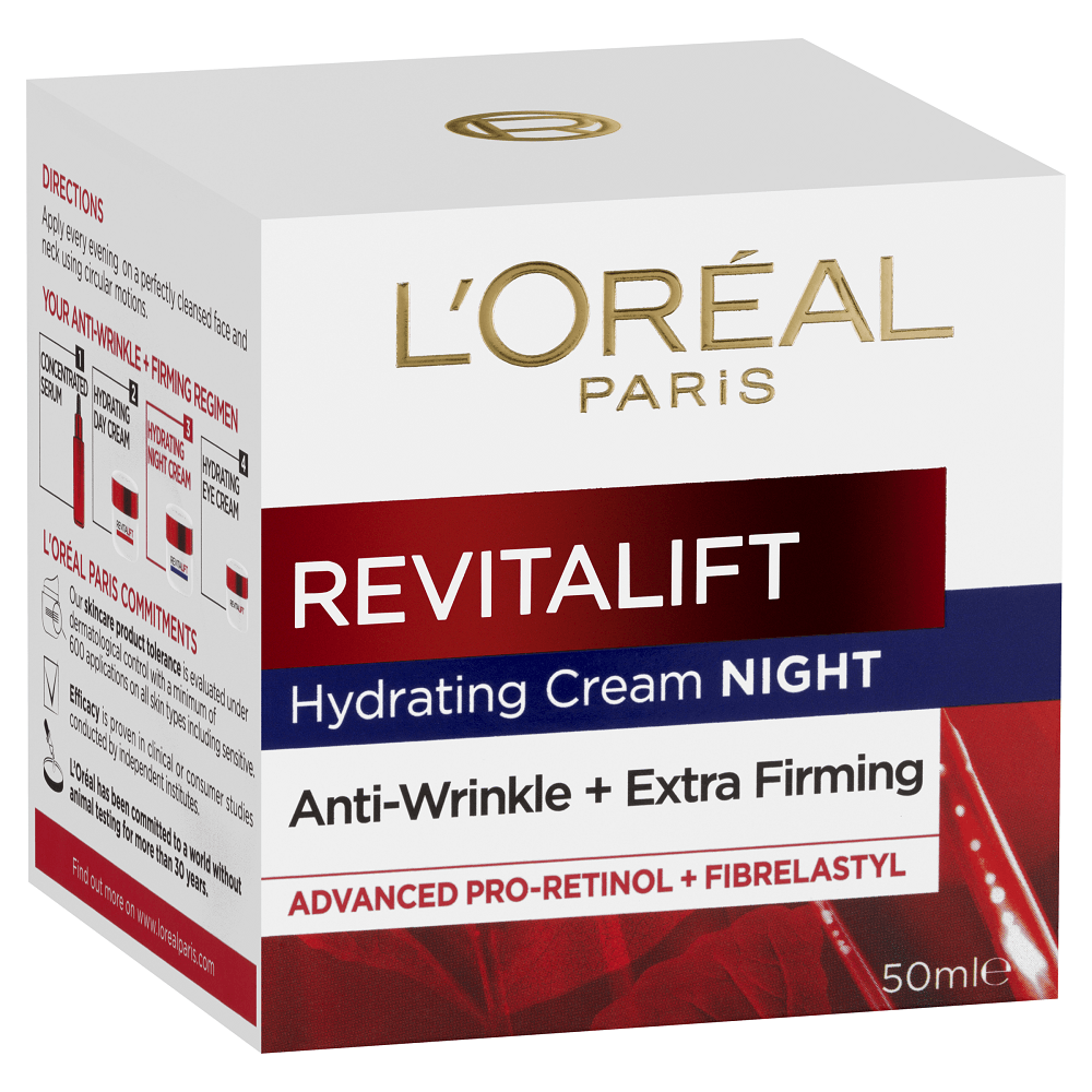 L'Oréal Paris Revitalift Night Cream 50mL