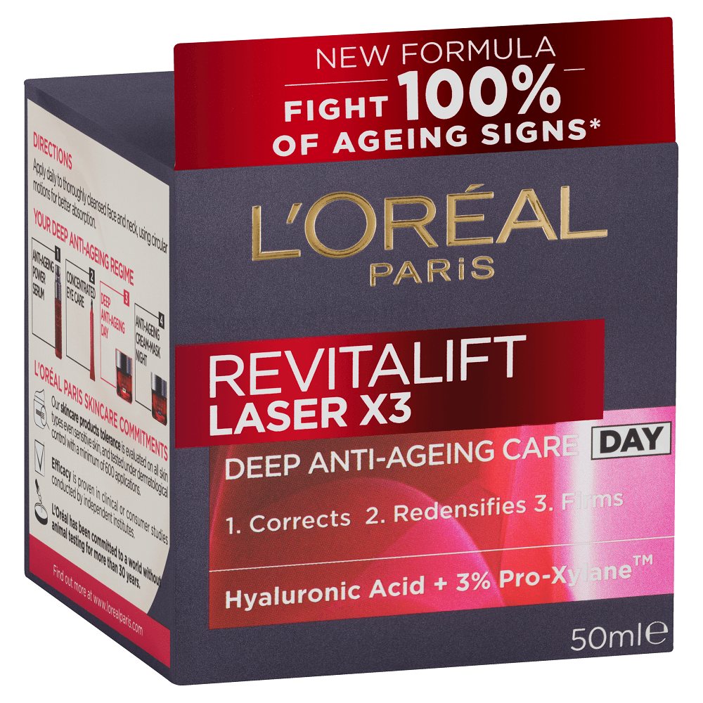L'Oréal Paris Revitalift Laser X3 Day 50mL