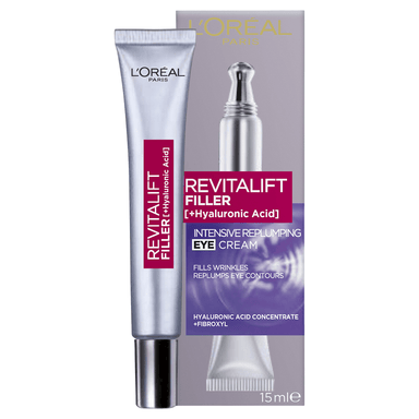 L'Oréal Paris Revitalift Filler + Hyaluronic Acid Eye Cream 15mL