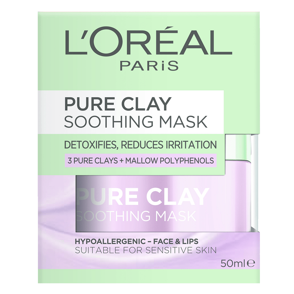 L'Oréal Paris Pure Clay Soothing Purple Mask 50mL