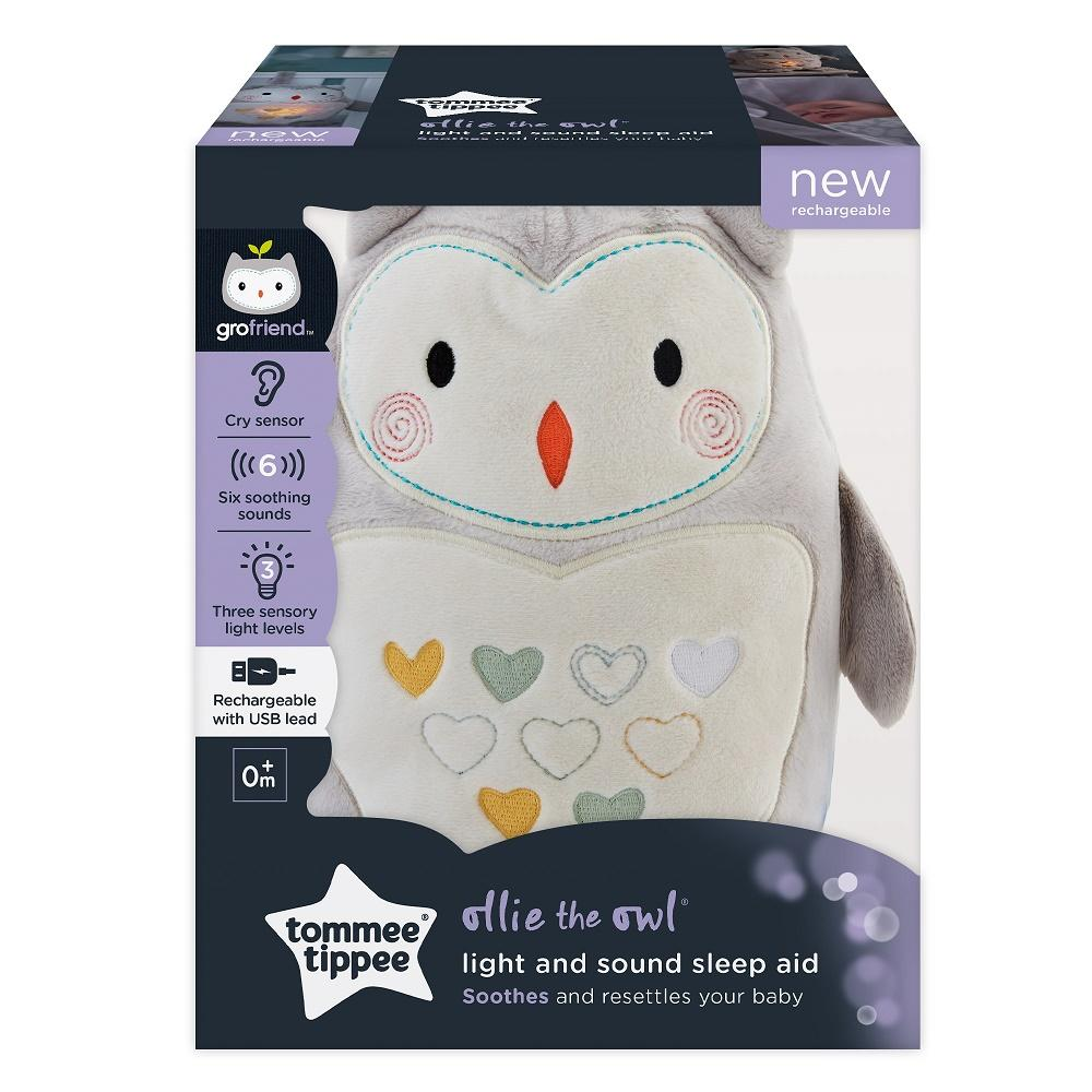 Tommee Tippee Light and Sound Sleep Aid | Ollie the Owl