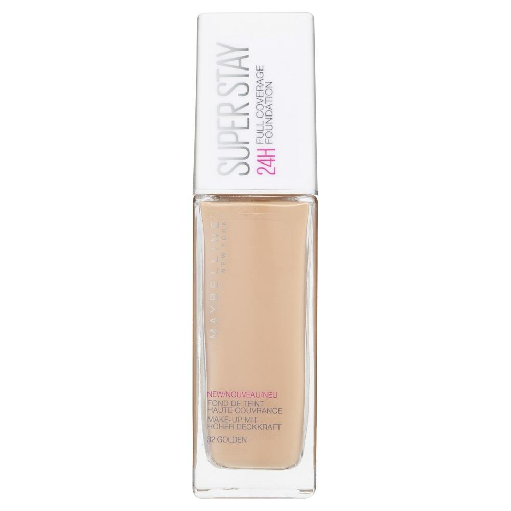 Maybelline SuperStay 24HR Full Coverage Liquid Foundation 30mL - Golden