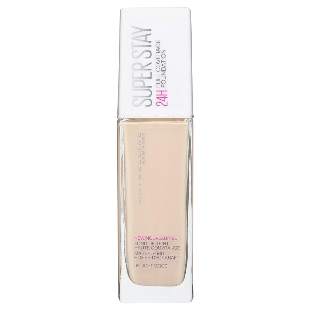 Maybelline SuperStay 24HR Full Coverage Liquid Foundation 30mL - Light Beige