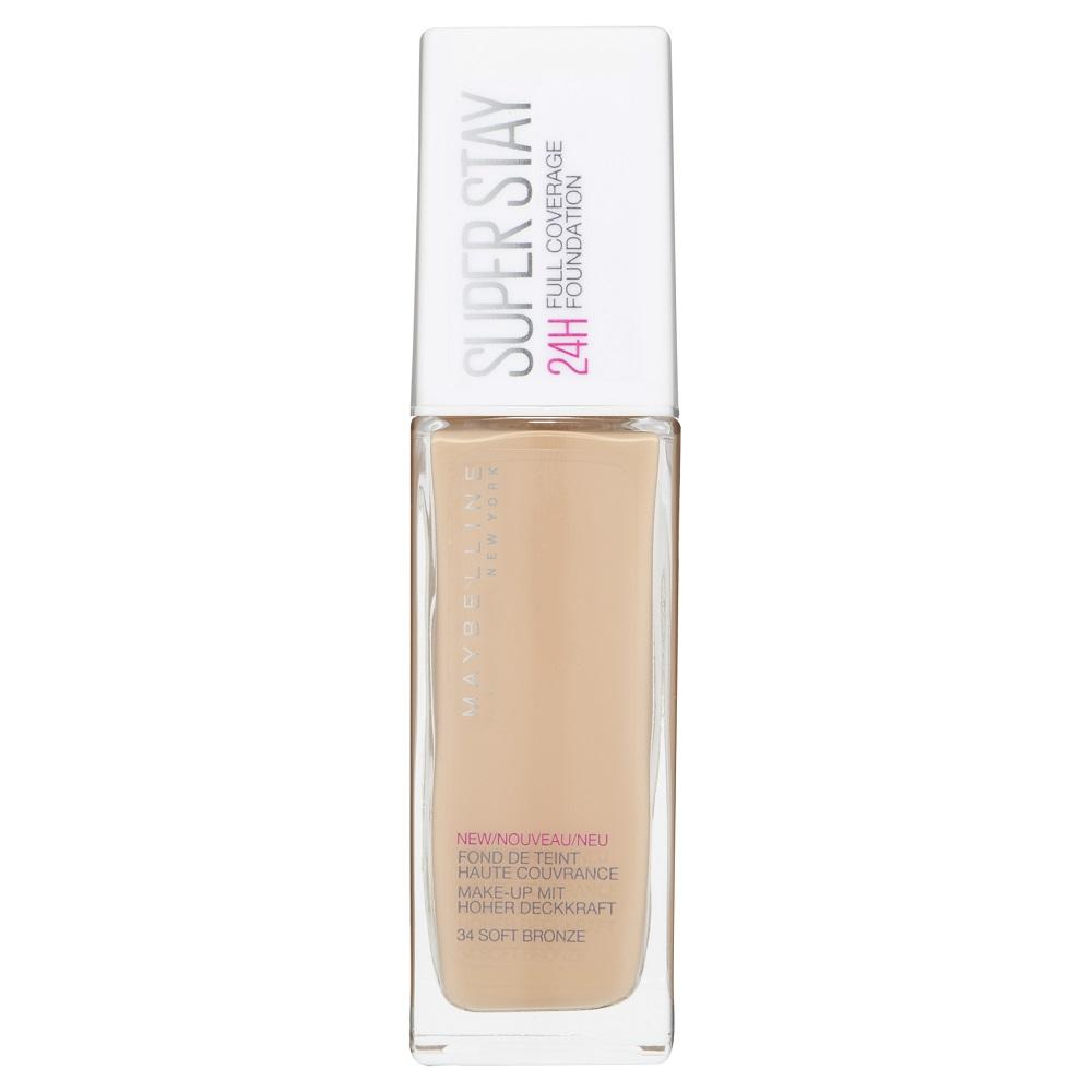 Maybelline SuperStay 24HR Full Coverage Liquid Foundation 30mL - Soft Bronze