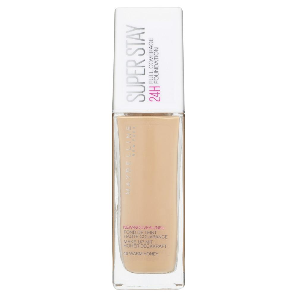 Maybelline SuperStay 24HR Full Coverage Liquid Foundation 30mL - Warm Honey