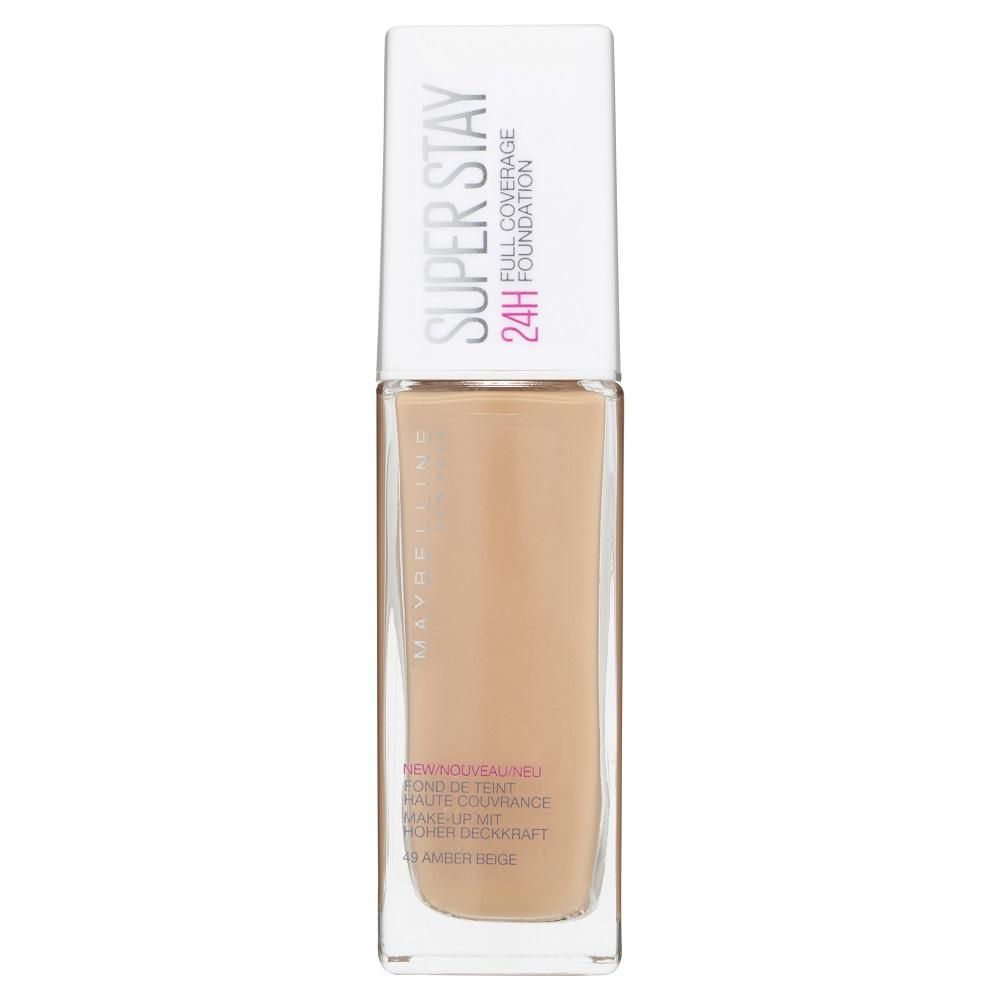 Maybelline SuperStay 24HR Full Coverage Liquid Foundation 30mL - Amber Beige