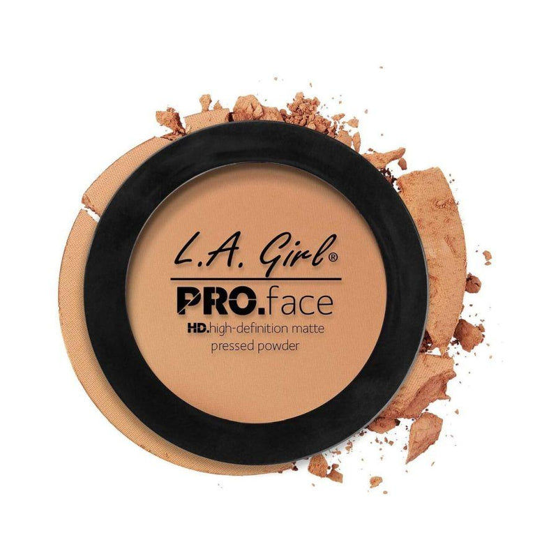L.A. Girl Pro Face High Definition Matte Pressed Powder - Soft Honey